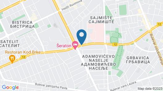 Prezident Hotel Map