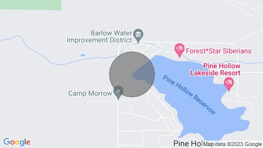 NEW! Hidden Gem w/ Views on Pine Hollow Reservoir! Map