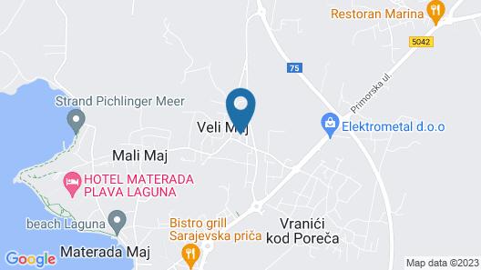 Apartment 358 Map