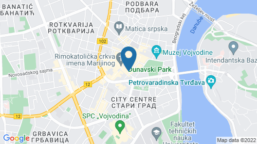 Hotel Putnik Map