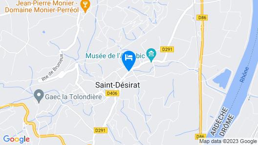 Hôtel La Désirade Map