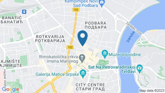 Hotel Fontana Map