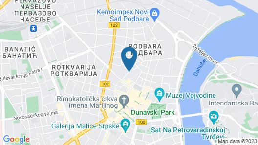 Garni Hotel 11Tica DM Map