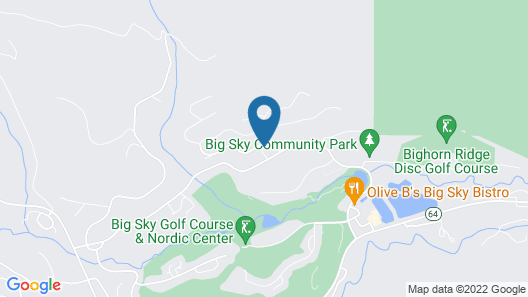 Contactless Check-in/out Process! Big Sky Golf Course- Roomy Condo in the Meadow Map