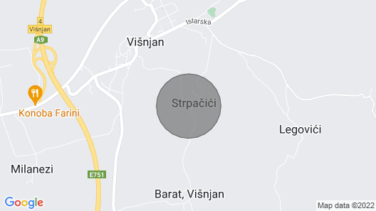 Holiday Home Tamaris with Pool in Strpacici Map