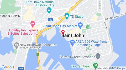 Hilton Saint John Map