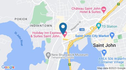 Holiday Inn Express Saint John Harbour Side, an IHG Hotel Map
