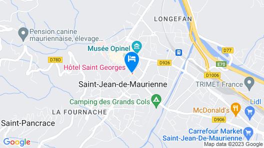 Hôtel Saint Georges Map