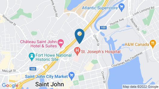 Days Inn by Wyndham Saint John New Brunswick Map