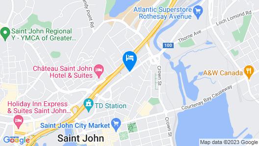 Days Inn by Wyndham Saint John New Brunswick Map