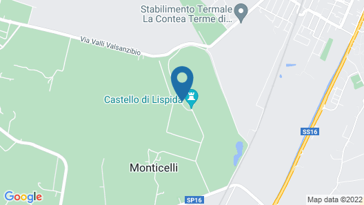 Wonderful Castle Just 25 km From Padua and 65 km From Venice Map