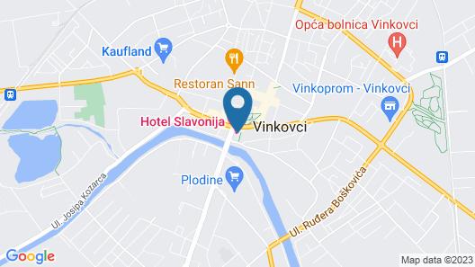 Hotel Slavonija Map