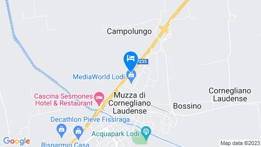 Motel Autosole Lodi Map
