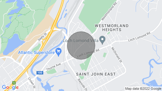 Amazing Location in Saint John 2 Br Modern Parking, Wifi, Coffee Map
