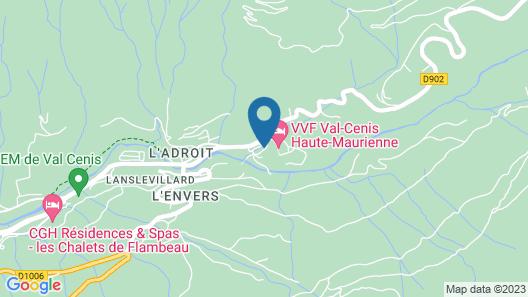 Hôtel Club Vacanciel Val Cenis Map