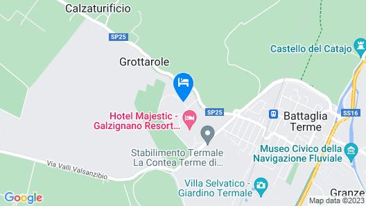 Hotel Sporting Map