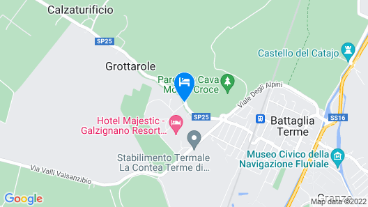 Radisson Blu Resort, Terme di Galzignano Map