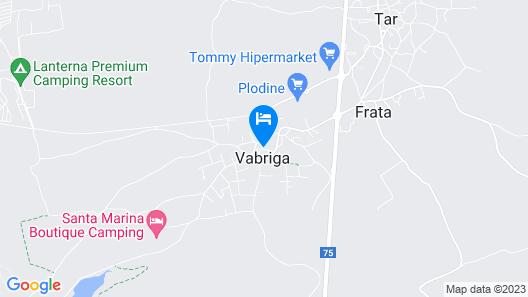 Villas Vabriga Map