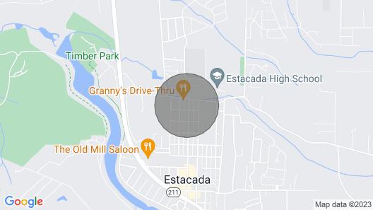 Estacada Home - Near Milo Mciver State Park! Map