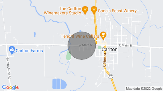 The Carlton Pinot House - Modern Vacation Home in the Heart of Willamette Valley Map