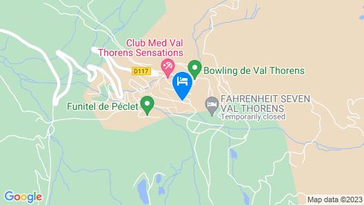 Hotel Marielle Map