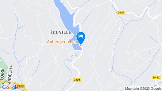 Auberge du Lac Map