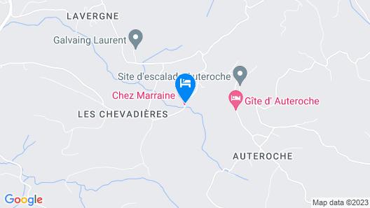 Chez Marraine Map
