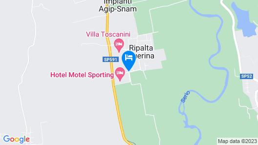 Hotel Motel Sporting Map