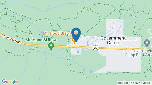 Best Western Mt. Hood Inn Map