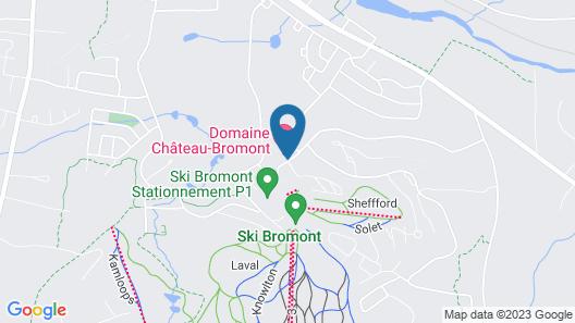 Hôtel Château-Bromont Map