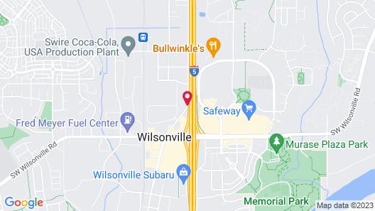 Best Western Wilsonville Inn & Suites Map