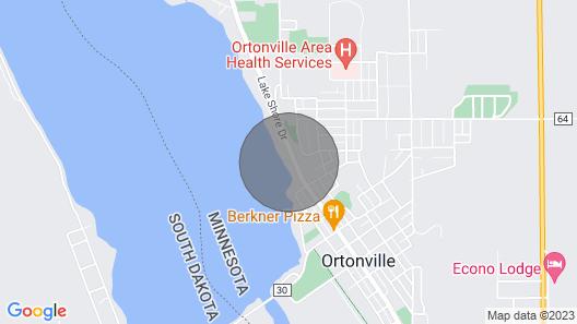 Beautiful Guesthouse on Big Stone Lake Map