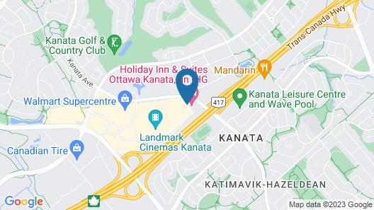 Holiday Inn Hotel & Suites Ottawa Kanata, an IHG Hotel Map