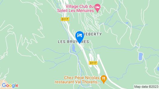 Les Chalets de L'Adonis Map
