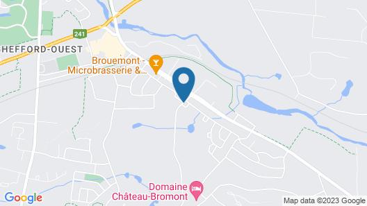 Auberge Bromont Map