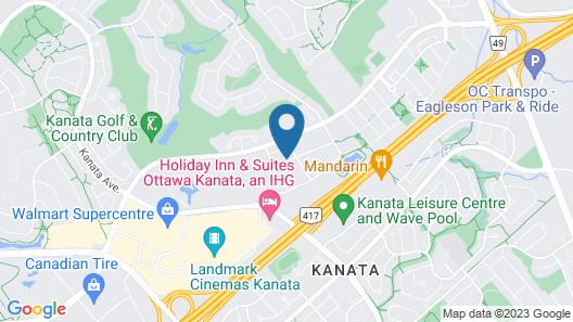 Residences at Kanata Lakes Map