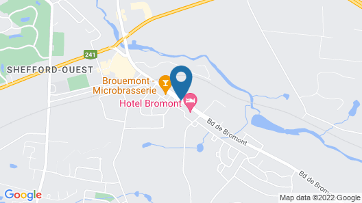 Hotel Bromont Map