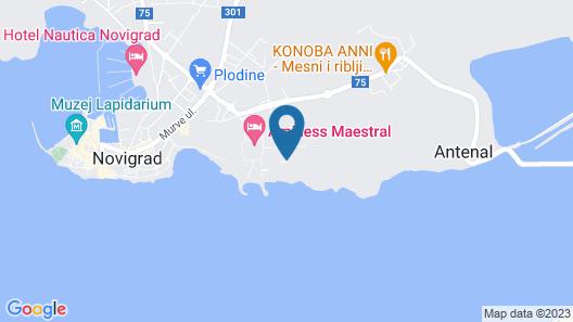Holiday Homes Miramì Family Village Map