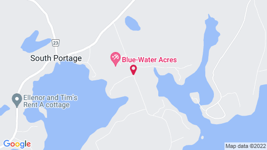 Blue Water Acres Map