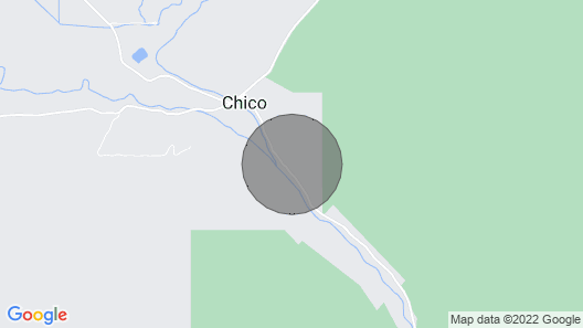 Off Grid Trapper Cabin Map
