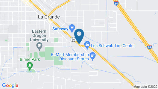 Travelodge by Wyndham La Grande Map