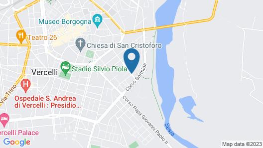 Hotel Cinzia Map