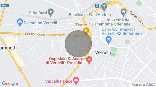 Chicco Apartment Light Map