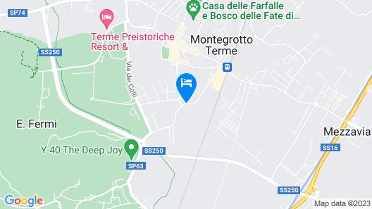 Hotel Terme Neroniane Map