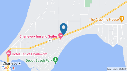Charlevoix Inn & Suites Map