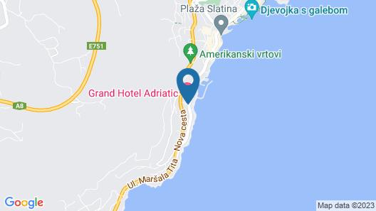 Grand Hotel Adriatic I Map