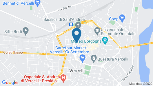 Vercelli Bread and Butter Apartment Map
