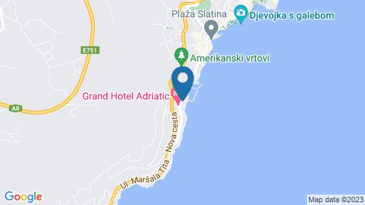 Hotel Istra - Liburnia Map