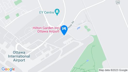 Fairfield Inn & Suites by Marriott Ottawa Airport Map