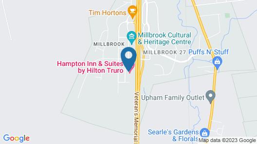 Hampton Inn & Suites Truro, NS Map